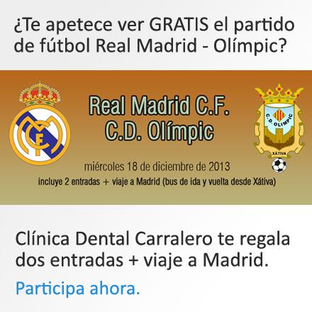 Participar en el sorteo de la entrada de fútbol + viaje a Madrid