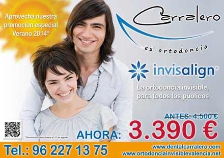 Oferta especial invisalign verano (Promoción válida hasta el 31 de agosto de 2014)