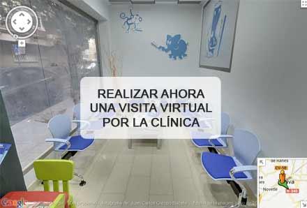 Pulsa aquí para realizar ahora una visita virtual por la clínica