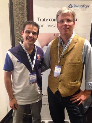 Dr. David Carralero junto con el  Dr. Zuran de Viena