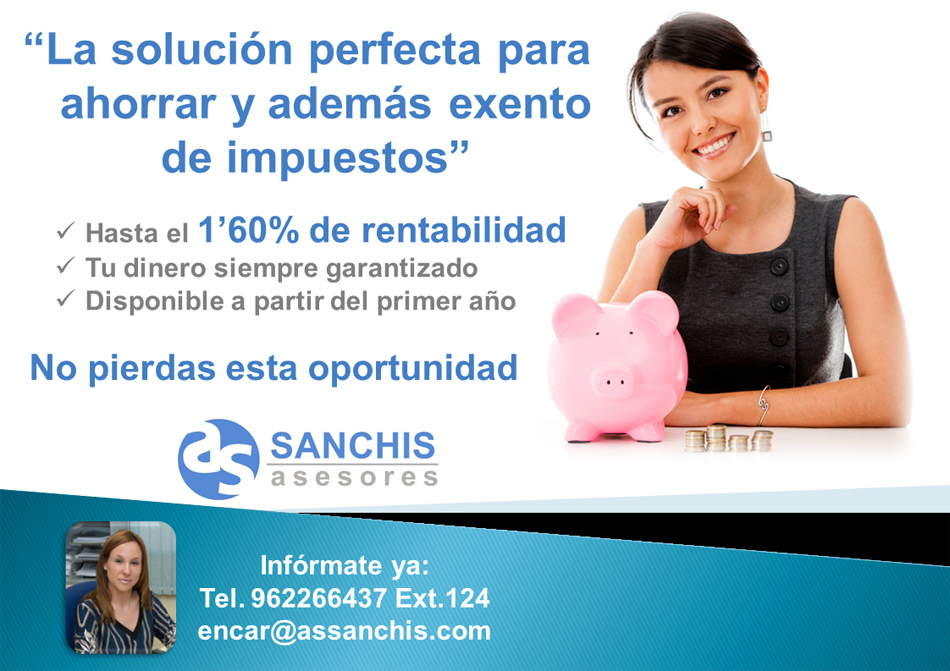 Convenio con la Asesoría Salvador Sanchis