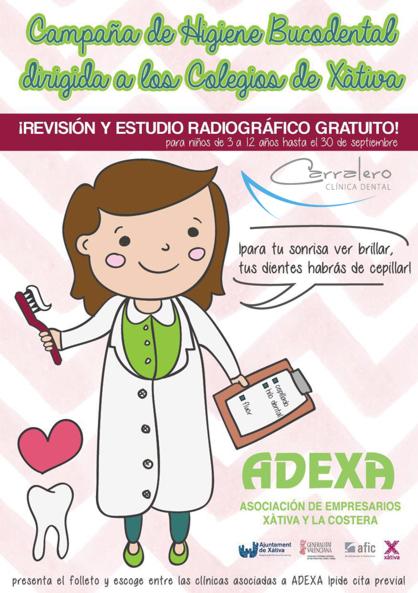 Campaña  de Salud Bucodental en los colegios