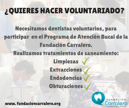Fundación  Carralero necesita voluntarios